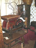 photo of vintage grape crusher