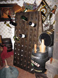 photo of vintage riddling rack